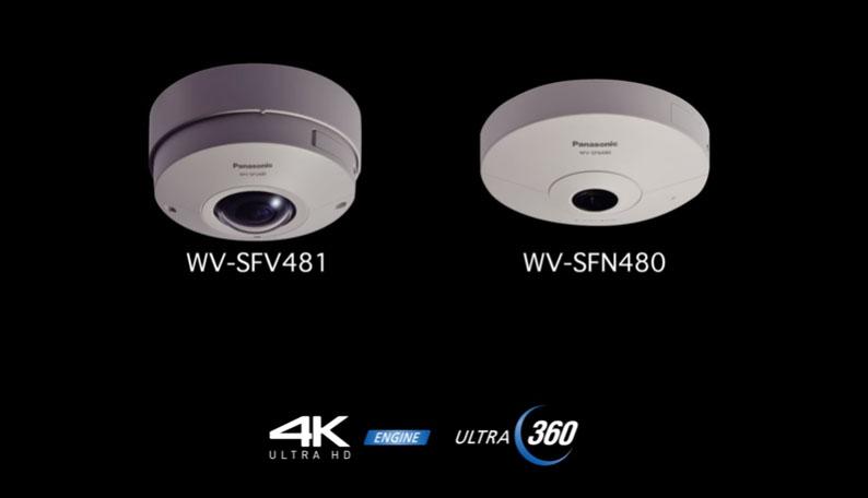 กล้องวงจรปิด Panasonic 360 องศา
