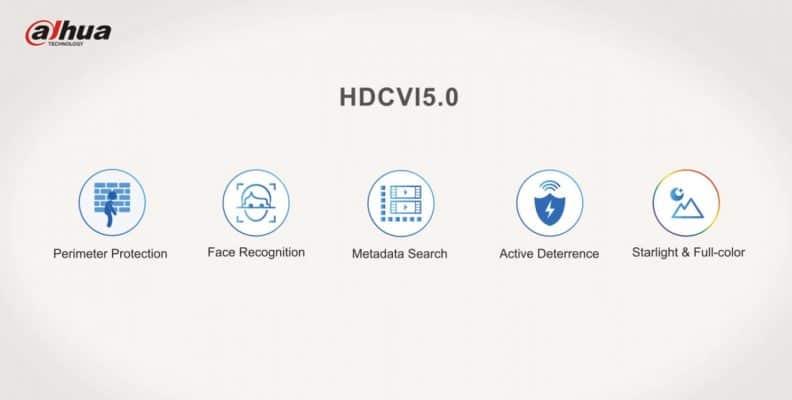 Dahua เทคโนโลยี 5.0