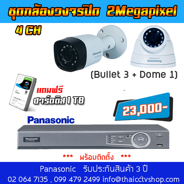 Panasonic Analog set4