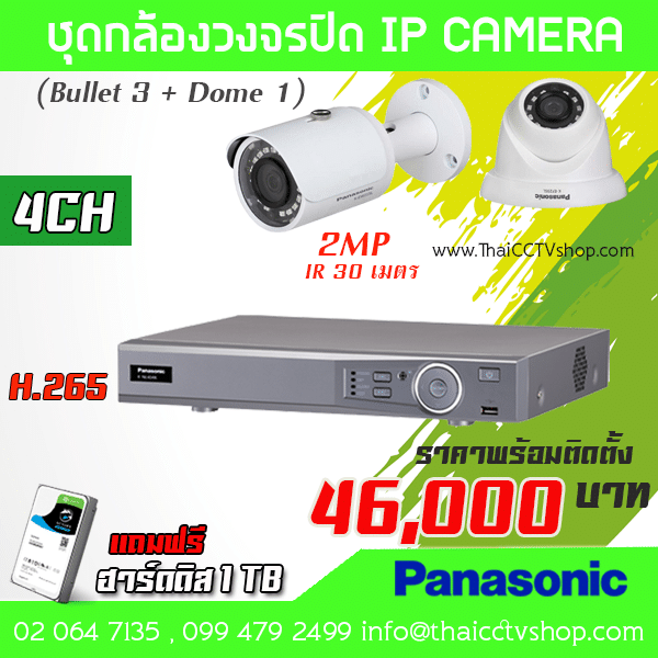 Panasonic IP set4