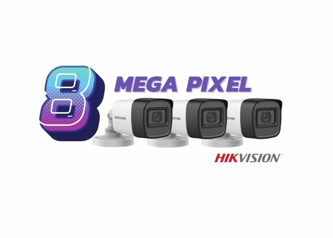 Hikvision 8mp