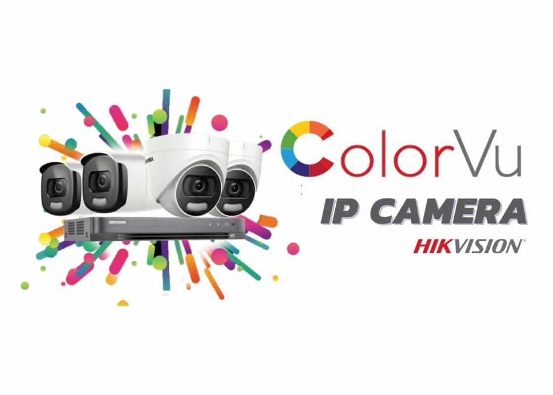 Hikvision colorvu ip camera
