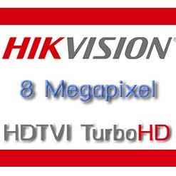 กล้องวงจรปิด Hikvision 8mp