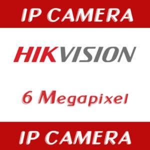 กล้องวงจรปิด Hikvision IP 6mp