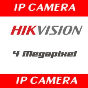 กล้องวงจรปิด Hikvision 4mp cctv IP camera