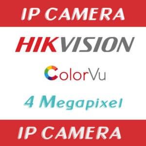 กล้องวงจรปิด Hikvision 4mp ColorVu IP camera