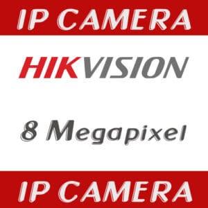 กล้องวงจรปิด Hikvision IP 8MP