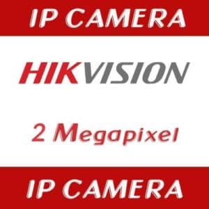 กล้องวงจรปิด Hikvision IP 2mp